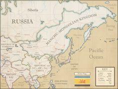 The Manchu-Mongolian Kingdom : imaginarymaps Guru Movie, Imaginary Maps, Steampunk Airship, India Map, Fantasy Map, Alternate History, Fantasy Setting, Creative Inspiration, Flags