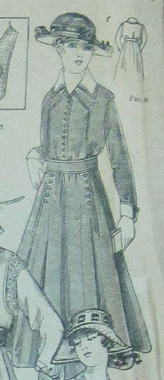 """1916. """"Журнал для хозяек"""". № 9. 1 мая 1916 г."""