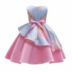 Filles belted robe à manches courtes /& gilet Set Strass baby Design 3-12 y