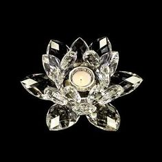 Crystal Blossom Tea Light
