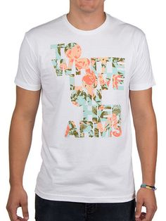 To Write Love on Her Arms Official Online Store - Floral Filled Shirt