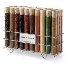 Test tube spice rack...chemistry and cooking combined...@Laura Jayson Welch wouldn't Nick like this?