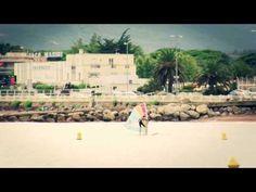 Cannes bord de mer plage du midi surfer Soleil et Pluie - YouTube