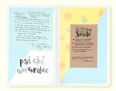 """thearialligraphyproject: """" Pages from my Starbucks x Moleskine 2016 planner: The…"""