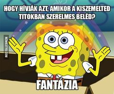 Check out the Best SpongeBob SquarePants Memes, Coloring pages and Funny Quotes here. The SpongeBob memes are very popular in the Social Medias. Memes Spongebob, Spongebob Squarepants, When Your Crush, Having A Crush, Funny Quotes, Funny Memes, It's Funny, Funny Sunday Memes, Job Memes