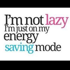 Energy saving mode