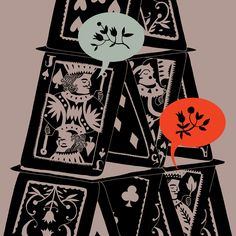 house of cards illustration