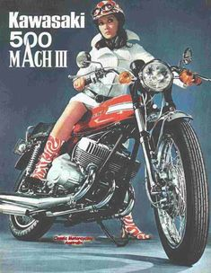 Kawasaki 500 MachIII - I scared the hell out of myself on one of these back in the day. Wicked fast machines!