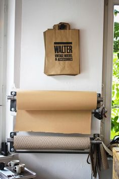 wall mounted paper rolls