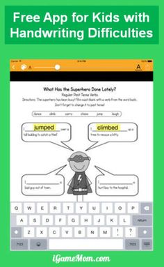 This is a free app that will make it easy for kids who have difficulties in handwriting, like those with dysgraphia or dyslexia. Kids can input the test or homework sheet into the app as image or PDF, and type in the answers instead of handwriting. Compared to other apps that allow adding notes on top of PDF, this is the easiest for kids to use.