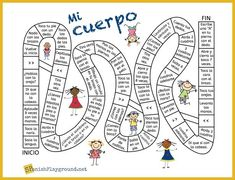 Spanish board games to improve your Spanish skills. Try these 9 Spanish games to spice up your studies for the biggest win of all - learning Spanish! Spanish Games For Kids, Puzzle Games For Kids, Learning Spanish, Spanish Lessons, Spanish Class, Spanish Projects, Puzzel Games, Body Parts In Spanish, Printable Board Games