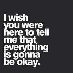 It is going to be ok if we want it to be ok. If we want it together we'll make it ok.