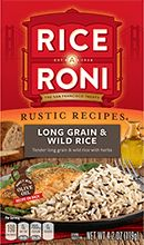 Mix up dinner with our tender long grain and wild rice seasoned with spices. Ricearoni Recipes, Rice Salad Recipes, Gourmet Recipes, Healthy Recipes, Bell Pepper Salad, Rice A Roni, Wild Rice Salad, Dry Rice, Chicken And Wild Rice