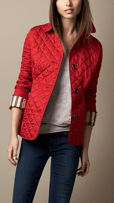 c1d511006 12 Best Burberry Quilted Jacket images
