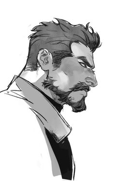 Amazing art of Gabriel Character Portraits, Character Drawing, Character Concept, Concept Art, Poses References, Character Design Inspiration, Male Character Design, Character Design References, Drawing Poses