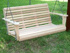 Elegant Wooden Swings Around Porch Wooden Porch Patio With Canopy Front Porch Cedar Porch Outdoor With Canopy Wooden Porch Kits Walmart Porch Lowes Wood Porch Swing For A Total Comfort Exterior light fixtures lighting ideas interior design Garden Swing Seat, Bench Swing, Wood Swing, Patio Swing, Porch Swings, Garden Swings, Porch Bench, Indoor Outdoor, Outdoor Gardens
