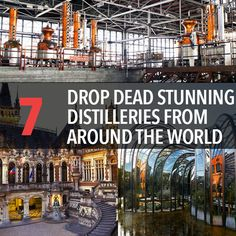 7 Drop Dead Stunning Distilleries From Around The World