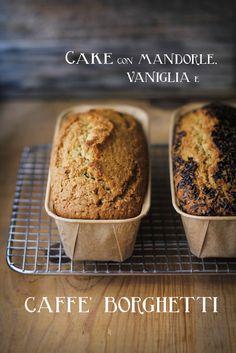 - VANIGLIA - storie di cucina: il dolce coccolo e sprint del lunedì mattina: cake con liquore al caffè, mandorle e vaniglia