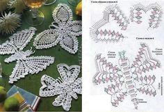 Mariposa a crochet
