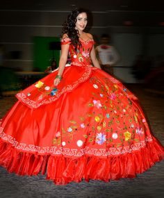 Charro quince dress