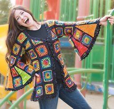 Granny Takes a Trip Crochet Pattern via Download