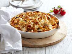 Fresh Tomato, Basil and Ricotta Baked Orecchiette Recipe   myfoodbook