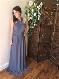 62978ffdde7a0 Bridesmaid dress available at The Bridal Boutique by MaeMe Metairie.  Louisiana 504.266.2771 Neutral