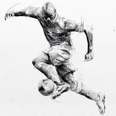 #wip of #football #illustration: #balotelli - Step 2: adding #watercolor More to come. - #photoshop #behance #maivisto #handmade #wacom #watercolor #pencil #ink #thedesigntip #artfido #design #graphicdesign #art #draw #fineart #picame #arts_help #illustrationage #blackandwhite #soccerbible #football #soccer #italia #acmilan @mb459 @acmilan @azzurri by maivisto
