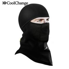 Obedient Winter Warm Full Face Cover Thermal Fleece Lined Windproof Anti Dust Ski Mask Balaclava Hood Rubber Breathable Vent Men's Skullies & Beanies