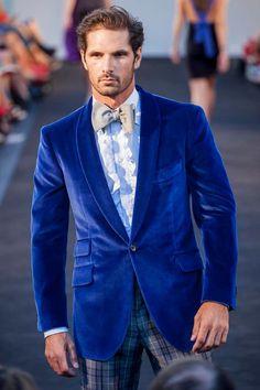 blue velvet via Hadleighs. Different but dapper nonetheless