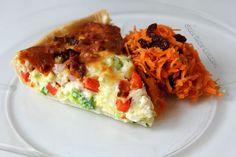 Sabrina's Køkken: Grøntsags-tærte med råkost