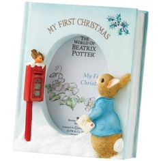 Beatrix Potter Photo Frame, My First Christmas, 3.5 x 2.5-inch (€18) ❤ liked on Polyvore featuring home, home decor and frames