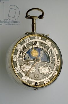 Pair-cased verge watch, c.1685 (silver), Colston, Richard (c.1682-1709) / Ashmolean Museum, University of Oxford, UK / Bridgeman Images