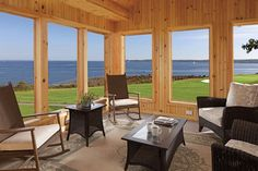 Endless views at the Flume Cottage at the Samoset