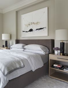 Greenview Ave Bedroom American Contemporary Eclectic Transitional by 2to5 Design