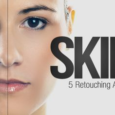 Freebie: 5 Skin Retouching Photoshop Actions