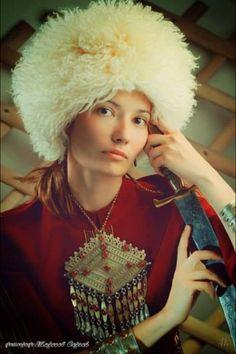 Turkmenische Frau