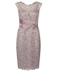 Peony All Over Sequin Lace Dress Image 0