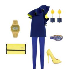 Blue & Yellow outfit