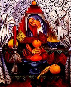 Good Friday Altar - MARÍA IZQUIERDO