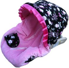 skull baby car seat covers  | skull infant car seat cover price $ 74 95 ships in 3 5 days car seat ...