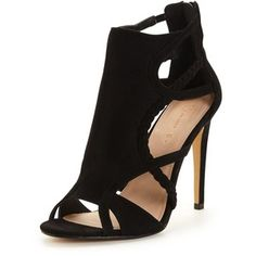 V By Very Chelsea Plaited Cut Out Heeled Sandal