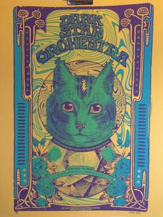 Dark Star Orchestra Official Hand-Printed by MatthewStuartDecker