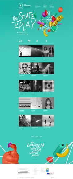 KIKK Festival 2014. Just a festive site. #webdesign #design (Join design group board at https://www.pinterest.com/aldenchong/just-a-board-of-designs/)
