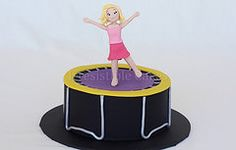 fondant trampoline - Google Search
