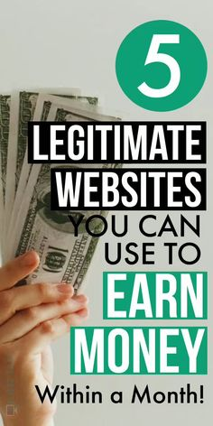 Check out 5 Legetimate websites to make money online from the comfort of your home. Using them, you can make money within a month. Source by Lifezeazy The post 5 Legitimate Websites to Make Money Online From Home appeared first on Mason Makes Money. Ways To Earn Money, Earn Money From Home, Make Money Fast, Make Money Blogging, Way To Make Money, Free Money, Ways Of Making Money, Making Money From Home, Money Making Websites