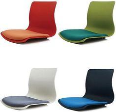 Superbe Ergonomic Floor Chair Back Support Low Tatami Meditation Legless