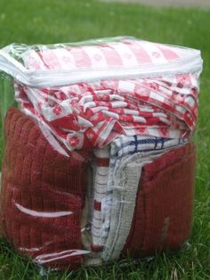DIY Camping Hacks - Camping Bedding Storage - Easy Tips and Tricks, Recipes for Camping - Gear Ideas, Cheap Camping Supplies, Tutorials for Making Quick Camping Food, Fire Starters, Gear Holders and More http://diyjoy.com/diy-camping-hacks