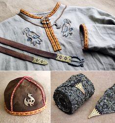 Viking props 1 by Astalo on DeviantArt Viking Tunic, Viking Garb, Viking Reenactment, Viking Men, Viking Dress, Medieval Costume, Viking Life, Norse Clothing, Medieval Clothing