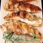 "Easy Grilled Chicken I ""We have used Italian dressing for marinating chicken for years. It is a family favorite, makes the chicken tender, moist and flavorful, and is very easy. Easy Chicken Marinade, Barbecue Chicken, Grilled Chicken Recipes, Marinated Chicken, Healthy Chicken Recipes, Chicken Marinate, Boneless Chicken, Healthy Meals, Food Dishes"